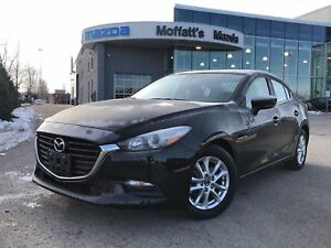 2017 Mazda Mazda3 GS BLINDSPOT, HEATED SEATS/WHEEL, 7 SCREEN