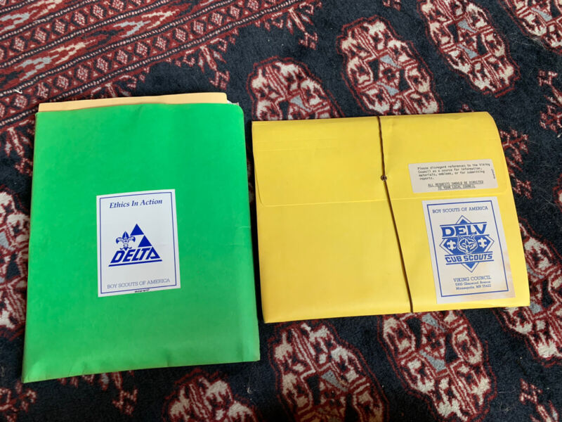 "Original ""Ethics in Action"" Delta & Delv Materials - Boy Scout"