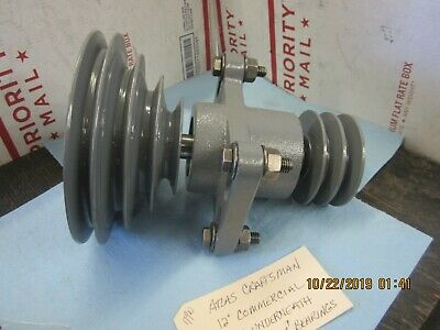 Atlas Craftsman 12 Commercial Lathe Underneath Drive Pulleys Bearings