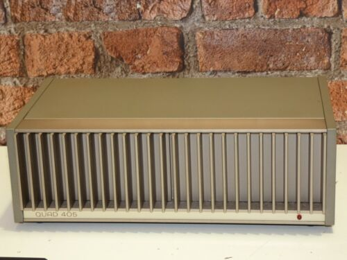 Quad 405 Vintage Hi Fi Use High Quality Stereo Power Amplifier