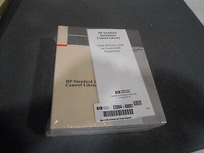 Hp E2094-60007 Hp Standard Instrument Control Library