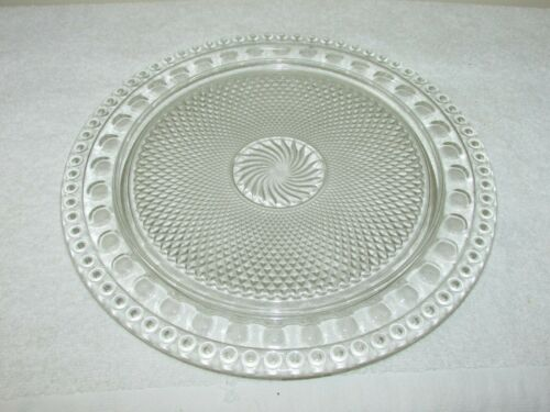 "IMPERIAL TRADITIONS 13"" BIRTHDAY CAKE PLATE 72 HOLES FOR CANDLES"