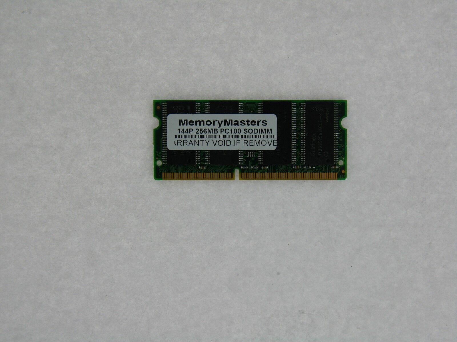 256MB  SDRAM MEMORY RAM PC100 SODIMM 144-PIN 100MHZ