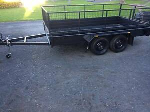 Tandem Axle Trailer 12 x 6 FT with 600 mm Cage Brand New Coonamble Coonamble Area Preview