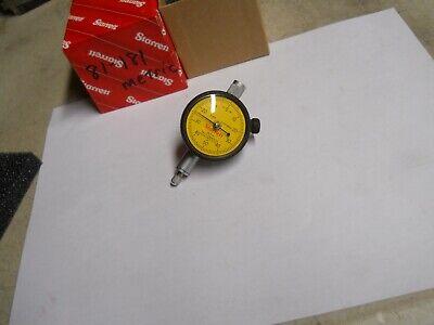 Starrett 81-181 Metric. Dial Indicator .01mm  0-50-0  Slightly Used