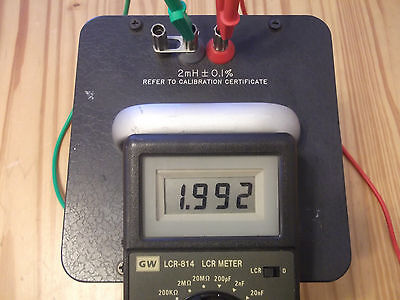 General Radio Standard Inductor 1482-f 2mh Gree Shipping
