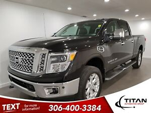 2016 Nissan Titan XD SL|V8 Diesel|4x4|CAM|Leather|NAV|Sunroof