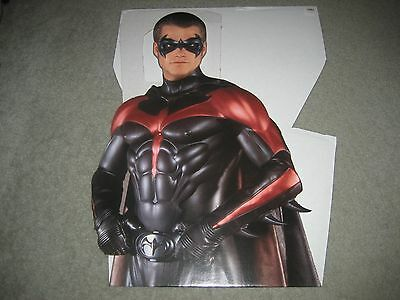 1997 Batman & Robin Movie 6' Life Size Standee Standup Display O'Donnell MISP