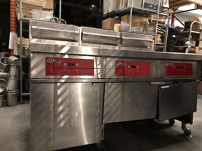 Vulcan Model 3gr85df Deep Fryer 120 Vac 5060 Hz Single Phase Natural Gas