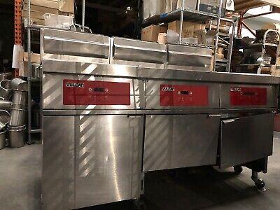 Vulcan Model 3gr85df Deep Fryer 120 Vac 5060 Hz Single Phase Natural Gas