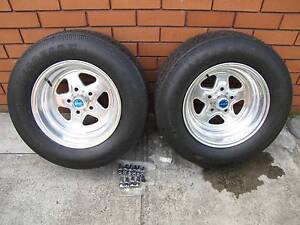 "Cragar Dragstar alloy wheels 15x8"" HQ pattern suit street/strip Mulgrave Monash Area Preview"