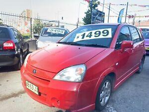 2003 Suzuki Liana Hatchback automatic rego 08/05/19 cheap car