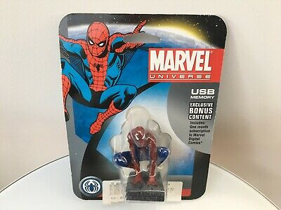 - SPIDER-MAN - Dane-Elec - Marvel Universe - 4GB USB Drive - NEW