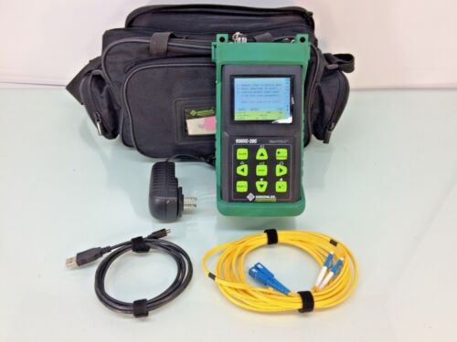 Greenlee 930xc-20c Handheld Otdr With Case - Tested