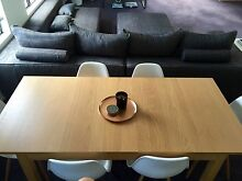 MOVING SALE: Extendable dining table with 8 Eames Replica chairs Darlinghurst Inner Sydney Preview