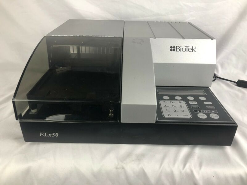BioTek ELx50 8 Channel Microplate Strip Washer Free Shipping!