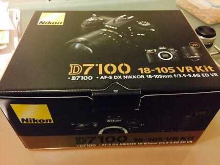 Nikon d7100 body + 18-105 VR lens kit Hurstville Hurstville Area Preview