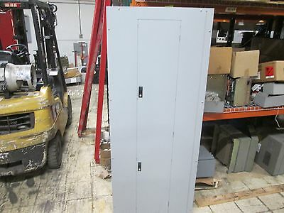 Ge 800a Main Circuit Breaker Panel Afq1428jbx 800a Main 200a Feeder 1ph 3w Used