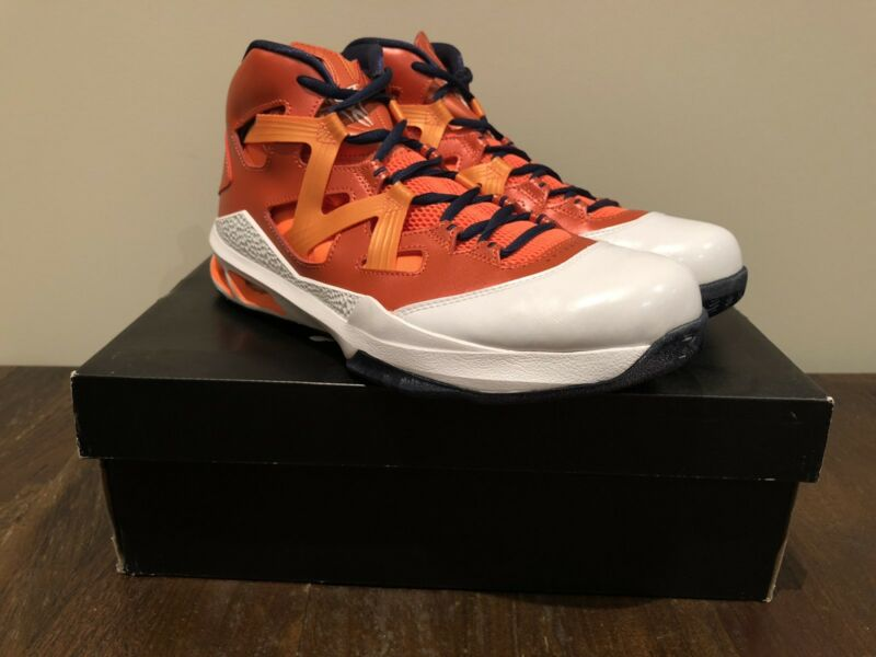 243dad0321ce Jordan Melo M9 basketball shoes orange Syracuse US 9.5 BRAND NEW ...