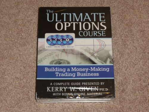Kerry Given - The Ultimate Options Trading Course 4 DVD $995