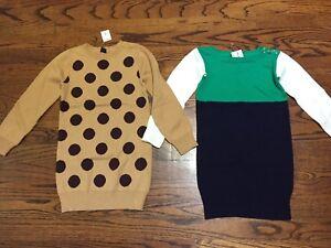 BNWT Gap sweater dress lot 4/5T