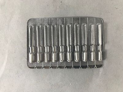 Perfect Dental 25 Mm Stainless Steel Barbed Broaches All Sizes 10 In Pack Fda