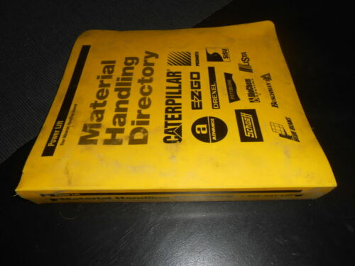 CATERPILLAR Power Lift Material Handling Directory.