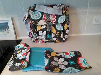 Kalencom Tweetie Bird Double Duty Baby Changing Bag NEW Large Wipe Clean Bag