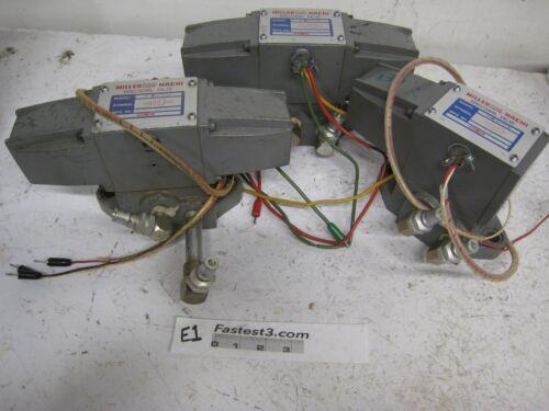 3 MILLER/NACHI D4-2S4A-G03-C115-E50 & 2 D4-2S4-G03-C115-E50 Directional Valve *
