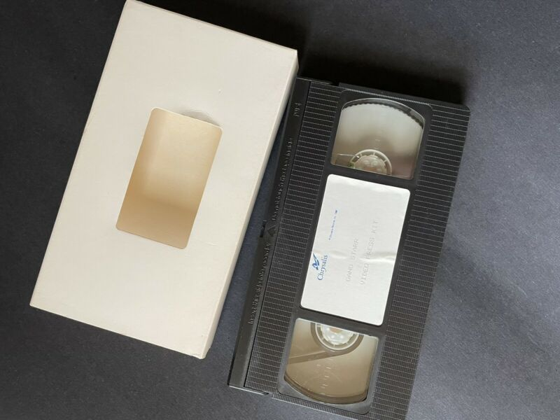 """Gang Starr """"Step Into Their Arena"""" Video Press Kit 1990 For """"Step In The Arena"""""""