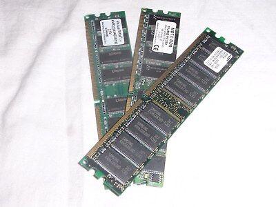 512 Mb Ddr Modul (512MB DDR RAM Riegel Arbeitsspeicher Speicher DDR1 PC2700 333MHz Computer Modul)