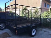 Box trailer 8' X 5' bike trailer go kart lawn mowing rubbish furniture Emu Plains Penrith Area Preview