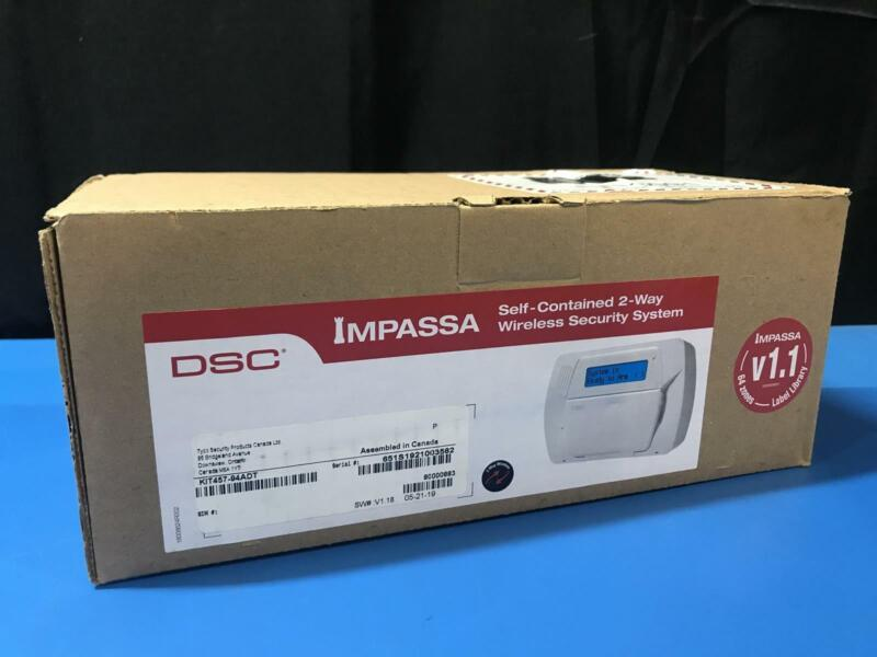 DSC KIT457-94ADT Impassa Self-Contained 2 Way Wireless Security System