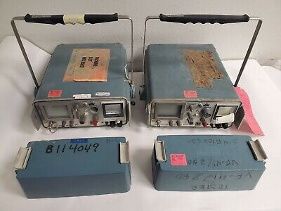 2 Tektronix Model 1502 Tdr Cable Tester With Covers Parts Repair