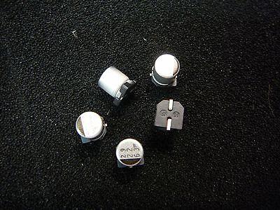 Sanyo 63cv22fs Aluminum Electrolytic Capacitor Smd 22uf 63v 20 New 5pkg