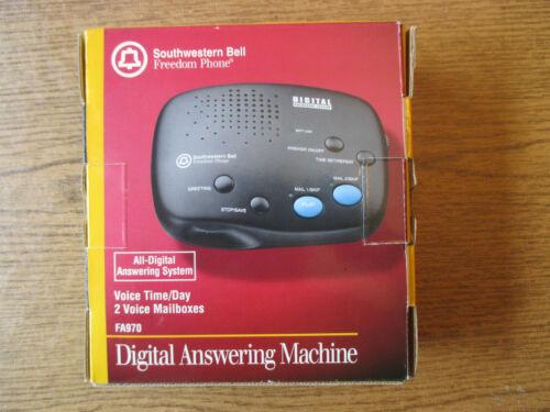 Southwestern Bell Freedom Phone Digital Answering Machine FA970 BRAND NEW