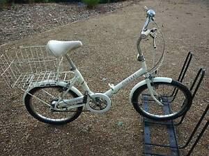Raleigh Folding Bicycle Kangaroo Ground Nillumbik Area Preview