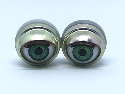"""Green Doll Eyes - Custom 18"""" American Girl Size Replacement Parts"""