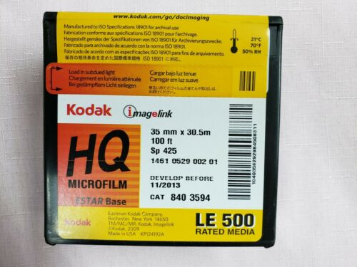 Kodak Imagelink HQ Microfilm 35mm X 100
