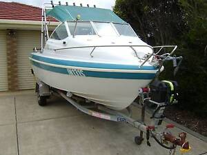 1998 Savage Centurion SPX 480 Cuddy Cabin 75 Hp Merc Fishing Boat Goolwa Alexandrina Area Preview