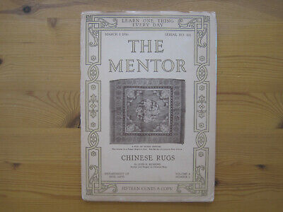 Mumford, John K.: Chinese Rugs (The Mentor 4/2 1916)