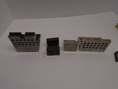 Machinist I 90 Degree Angle Block Plate Lot