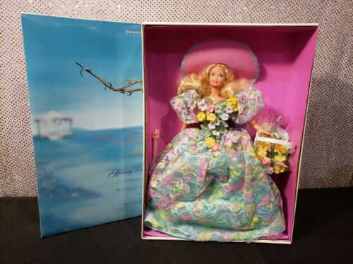 SPRING BOUQUET BARBIE DOLL 1994 LIMITED EDITION MATTEL 12989 NRFB  - $19.95