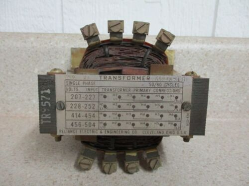 RELIANCE ELECTRIC 65248-16 SINGLE PHASE TRANSFORMER #1214200G NEW