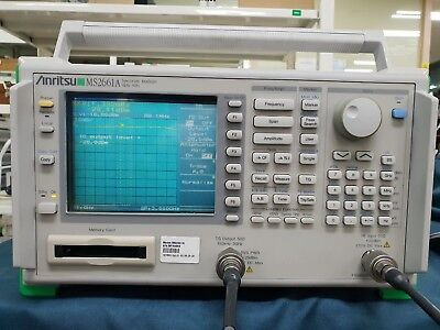 Anritsums2661a Spectrum Analyzer Opt.01 02 05 09 20with Tracking Generator