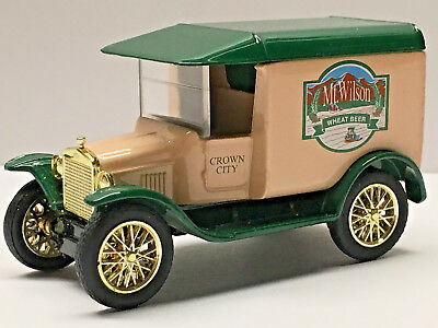 Matchbox Limited Ed. CROWN CITY BREWING COMPANY Beer Truck Mint/Loose 1/64 - Party City Crowns