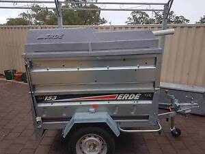 Water Fed Pole Trailer Set up Ravenswood Murray Area Preview