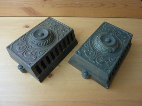 CAST IRON Electric Doorbell Button & Ringer - Patrick Carter Wilkins Phil. PA.
