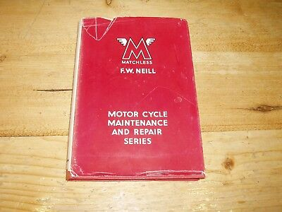 Matchless Motor Cycles 1933 to 1949. 2nd ed. dated 1949. Pearson's Book of
