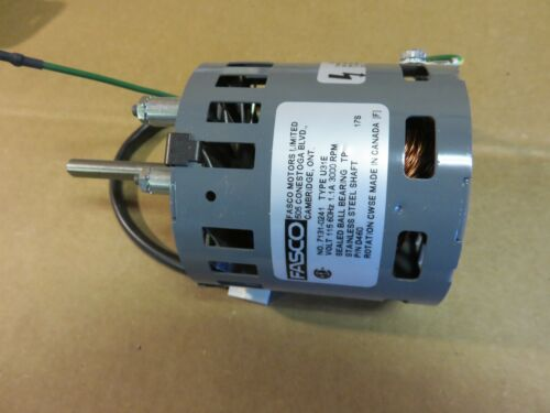 FASCO D1152 ELECTRIC MOTOR 115V 1//20 HP PART# 71625122